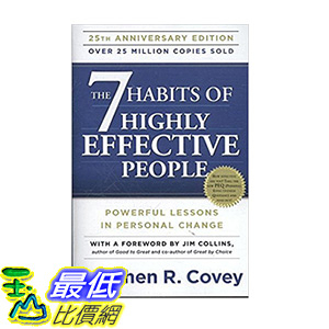 [106美國直購] 2017美國暢銷書 The 7 Habits of Highly Effective People:Powerful Lessons in Personal Change