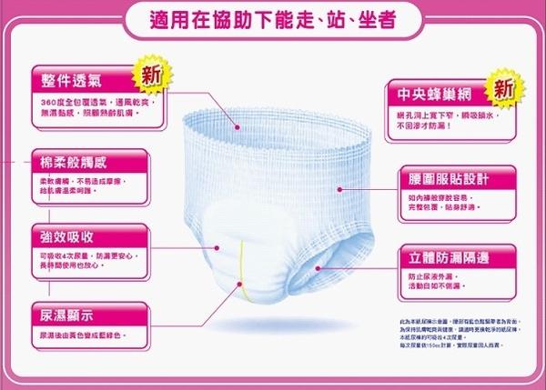 (新品上市)包大人防漏安心復健褲XL 12片/4包/箱*2箱 *維康*