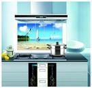 經濟型鋁箔廚房防水防油貼 牆貼 窗貼(帆船)(75x45cm)-艾發現