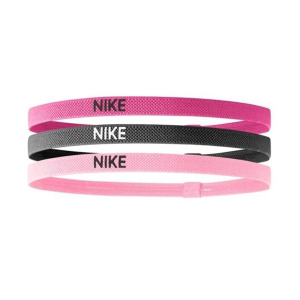 Nike Elastic Hairbands [NJN04944OS] 髮帶 髮束 運動 止滑 粉紅 3入