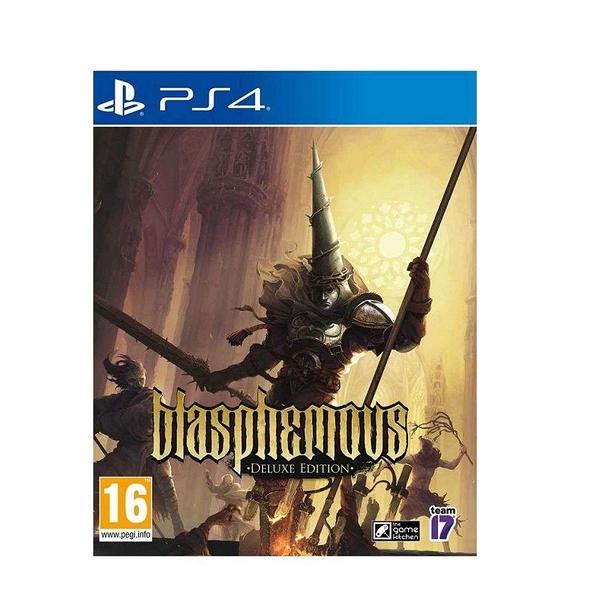 PS4 褻瀆神明 豪華版 簡中英文版 Blasphemous台灣代理版【預購6/29】