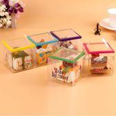 一次性迷你手提小慕斯盒西點盒子切塊蛋糕盒透明塑料包裝盒 小巨蛋之家