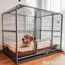 狗籠中大型犬金毛拉布拉多室內室外寵物狗籠子帶廁所狗圍欄小型犬MBS『「時尚彩紅屋」
