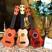 兒童音樂小吉他可彈奏中號尤克裏裏仿真樂器琴男女寶寶玩具3-12歲lx 小天使