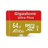 Gigastone Ultra Plus 64GB microSDXC UHS-1 (V30) (A1) 高速記憶卡