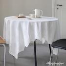 防水防油ins白色純棉蕾絲繡花桌布餐桌茶幾蓋布鄉村風可擦洗 黛尼時尚精品