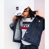 Levis 女款 牛仔外套 Original 經典修身版型 原色基本款