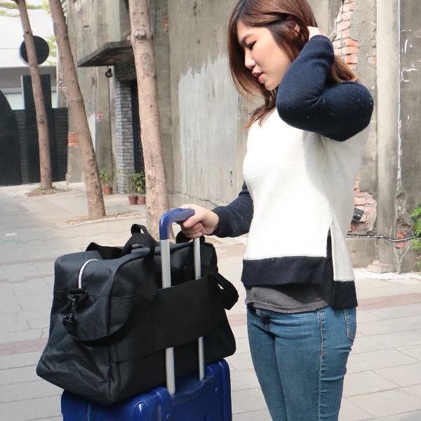 Catsbag|磨紗料二用斜背包|旅行袋|可套拉桿箱|33540903