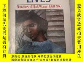 二手書博民逛書店INVENTED罕見LIVES:NARRATIVES OF BL
