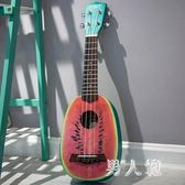 尤克里里女初學者23烏克麗麗21寸兒童創意小吉他裝飾 PA6711『男人範』
