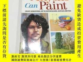 二手書博民逛書店anyone罕見can paint(英文原版)見圖Y3950 見