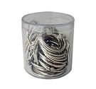 《享亮商城》Q09704 卡片環 1-1/2吋(鍍鎳)-PS圓桶35入