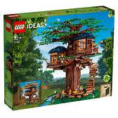 盒損 LEGO 樂高 IDEAS系列 21318 樹屋 【鯊玩具Toy Shark】