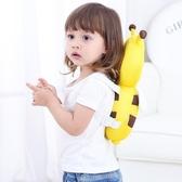 寶寶防摔頭部保護墊嬰兒學步防后摔護頭枕兒童走路防撞小蜜蜂