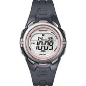 TIMEX 馬拉松系列女子運動休閒腕錶(粉紅)