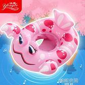 兒童坐圈加厚嬰幼兒小孩游泳圈可愛充氣寶寶腋下圈男女孩泳圈 韓語空間