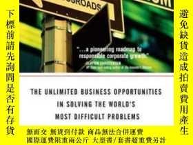 二手書博民逛書店Capitalism罕見At The Crossroads: The Unlimited Business Opp
