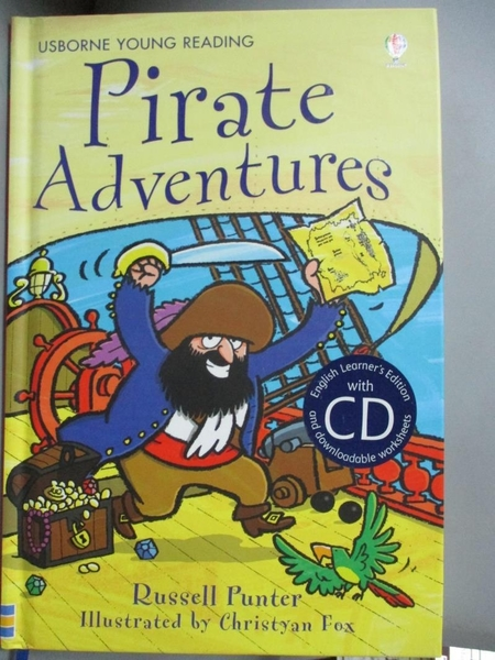 【書寶二手書T9/原文小說_HTA】Pirate Adventures (with CD) (Usborne Engli