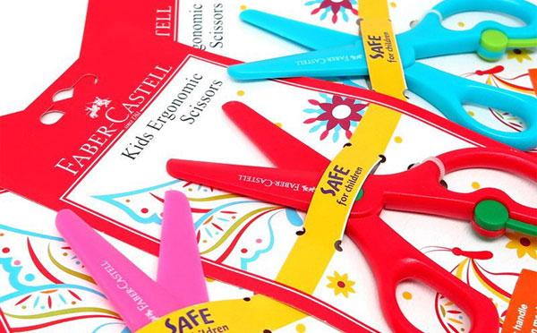 Faber Castell 安全省力剪刀(顏色採隨機出貨)
