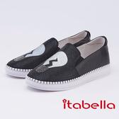 itabella.燈泡造型鑽飾休閒鞋(9567-91黑色)