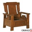 【采桔家居】寶格麗 典雅風實木抽屜單人座沙發椅(單抽屜設置)