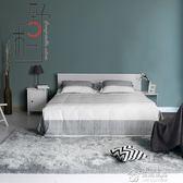 灰色地毯臥室滿鋪床邊毯榻榻米長毛加厚毛毯家用房間地墊整張 igo生活主義