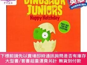 二手書博民逛書店罕見原版 恐龍少年 破殼日快樂 英文原版 Dinosaur Juniors 1Y454646 Rob Harp
