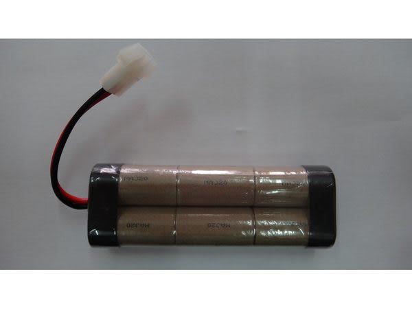 全館免運費【電池天地】小2號鎳鎘充電電池 7.2V 2000mah 遙控車電池 工業用電池.特殊電池