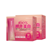 BHK's 100%膠原蛋白粉 (3g/條;30條/盒)2盒組