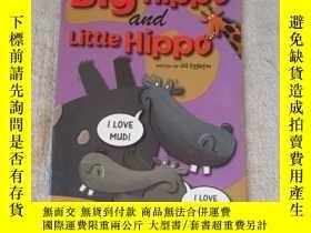 二手書博民逛書店Big罕見Hippo Little Hippo(Sails Sa