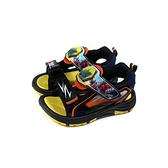 新幹線變形機器人 涼鞋 電燈鞋 童鞋 黑/黃 中童 SK3795 no890