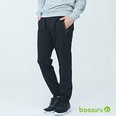 彈性輕便保暖褲01黑-bossini男裝