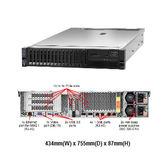 Lenovo x3650 M5 8871-PBC 2U機架式伺服器【Intel Xeon E5-2620v4 / 16GB / M5210+2G Flash(Raid-5) / 750W】