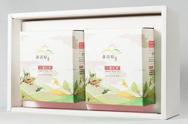 森活原-阿里山高山茶禮盒-小葉紅茶(2入)-原片茶包