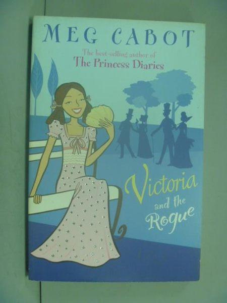 【書寶二手書T5/原文小說_LOA】Victoria and the rogue_Meg Cabot, Meg Cabo