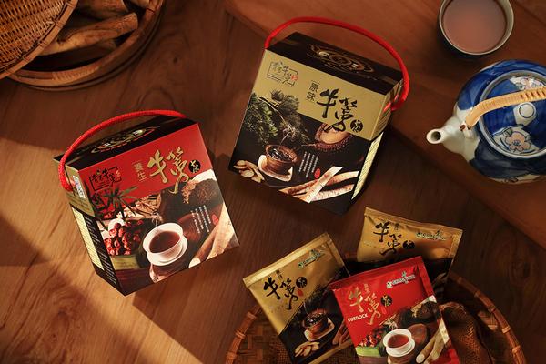 青玉牛蒡茶 養生原味牛蒡茶包禮盒(15g*10包入/盒) 超值2入組