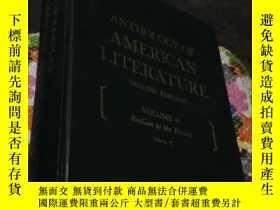 二手書博民逛書店ANTHOLOGY罕見OF AMERICAN LITERATURE (SECOND EDITION) (VOLUM
