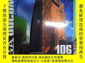 二手書博民逛書店世界建築罕見GA DOCUMENT 106 英日文原版Y2030