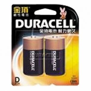 金頂鹼性電池1號2入