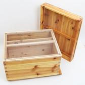 煮蠟標準中蜂蜂箱蜂巢箱全套杉木十框養蜂工具蜜蜂箱平箱專用