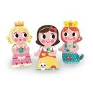 【法國Janod】磁性拼裝積木-童話公主 J08032 / 組