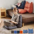 坐墊 靠腰墊 抱枕 腰枕【Y0140】愛爾蘭格子腰枕坐墊組(四色) MIT台灣製  收納專科