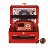 MUZEN OTR Metal 經典復刻藍牙音響收音機(豪華版)內含專屬原廠皮套+提背帶-波爾多紅