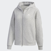 Adidas W S2S SWT FZHD 女款刷毛運動外套 -NO.ED1516