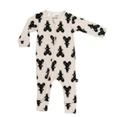 兒童連身衣 幼童連身 有機棉 澳洲 HUXBABY 有機棉連身衣 - 小老鼠