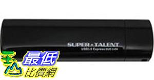 [106美國直購] Super Talent Express Duo 2-CH USB 3.0 32 GB Flash Drive ST3U32E2CK