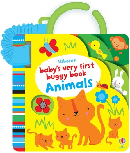 Baby's Very First Buggy Book Animals 小寶貝的第一本吊掛書:小動物