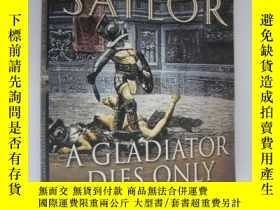 二手書博民逛書店A罕見Gladiator Dies Only OnceY8571