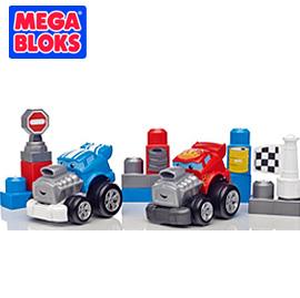 MEGA BLOKS  美高衝鋒競速積木車【佳兒園婦幼館】