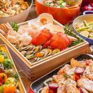 台中金典12F柏麗廳自助式吃到飽午餐或晚餐券(假日+100)